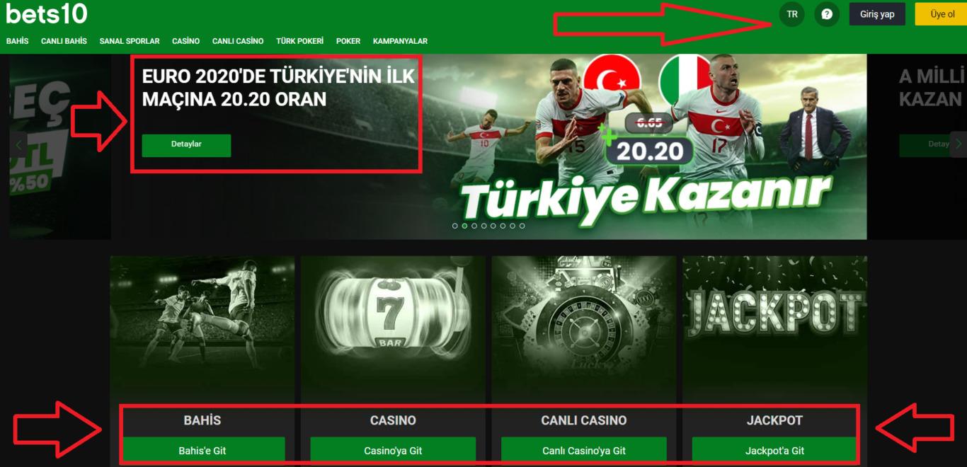 Bets10 Promosyon Bonusları Kazan
